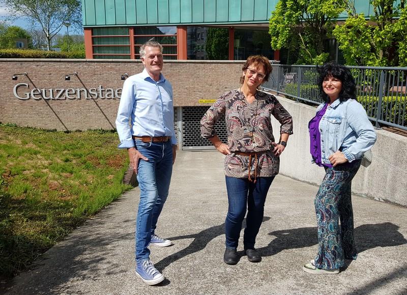 Foto van Elma van 't Hof, Bram van Baalen en Cris Vaudo